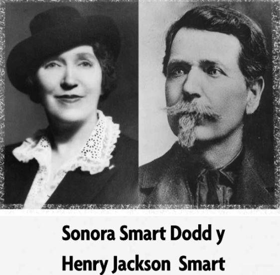 Sonora Smart y su padre H.J. Smart