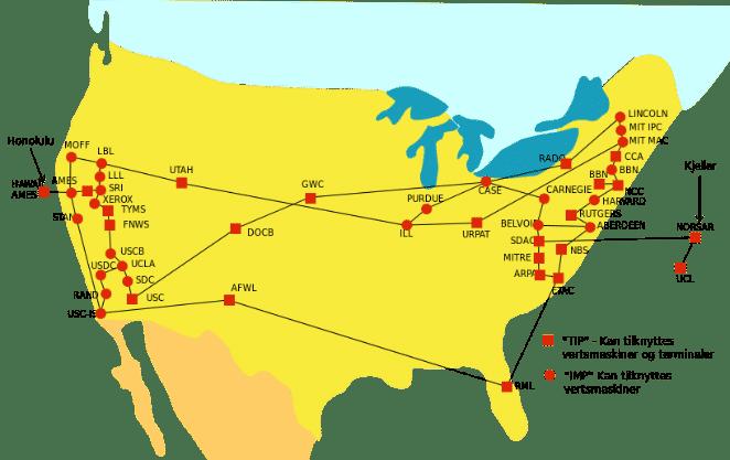 Mapa de Internet