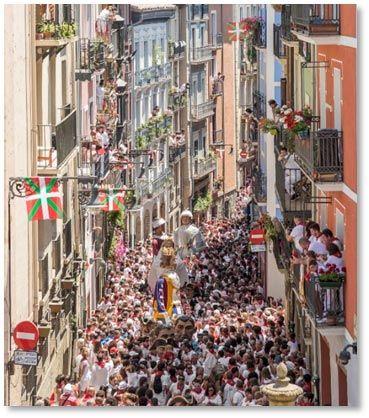 Pamplona en San Fermín