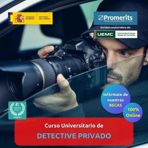 Curso Universitario de Detective Privado